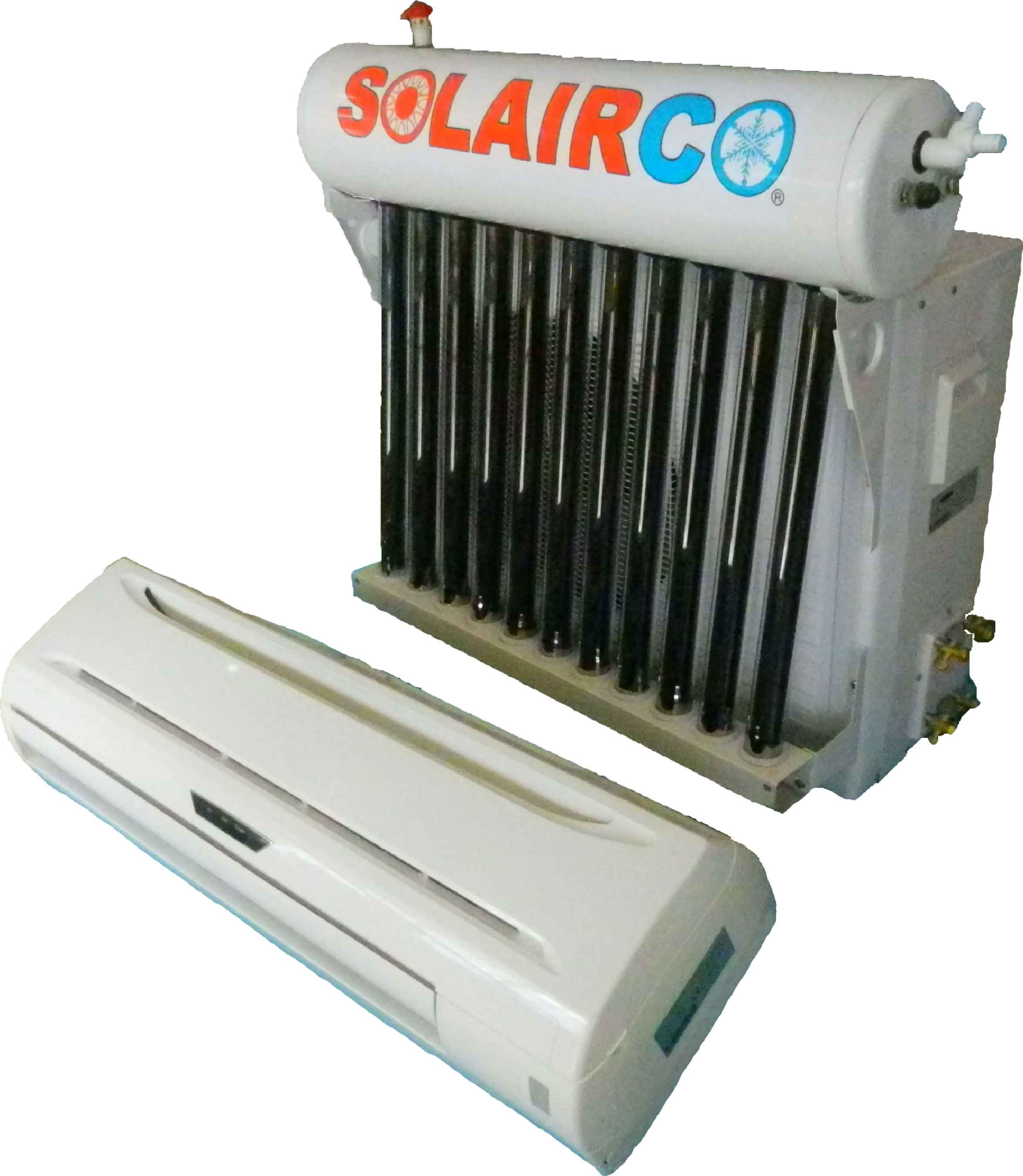 Solar Vaccum Tube Air Conditioner 9 000 BTU