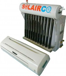 Solar Vaccum Tube Air Conditioner 12 000 BTU